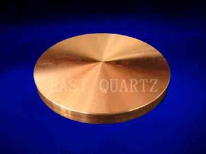 Anaerobic high purity round copper target